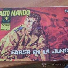 Tebeos: ALTO MANDO Nº 41 ( ORIGINAL ED. IBERO MUNDIAL ) (CO2). Lote 25956212