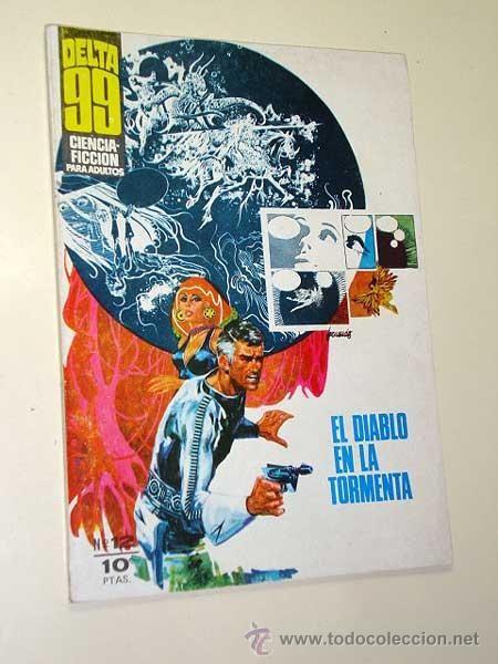 DELTA 99 Nº 12. ROGER, USERO. 5 POR INFINITO: ESTEBAN MAROTO. F. FERNÁNDEZ. I.M.D.E. 1969. +++ (Tebeos y Comics - Ibero Mundial)