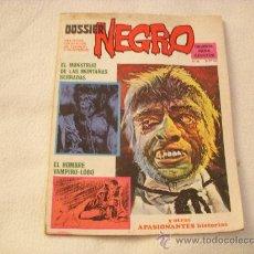 Livros de Banda Desenhada: DOSSIER NEGRO Nº 72, EDITORIAL IBERO MUNDIAL. Lote 27238137