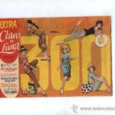 Tebeos: (M-1) EXTRA CLARO DE LUNA, DEDICADO A LOS BEATLES - EDT IBERO MUNDIAL 1959 - . Lote 27966686