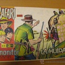 Tebeos: SAFARI COLECCION MONITOR Nº 3,1962. Lote 30700191