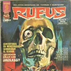 Tebeos: RUFUS Nº 23 IBERO MUNDIAL 1975 - JOSE ORTIZ,LEOPOLDO SANCHEZ, AL WILLIANSON, WALLY WOOD ETC.. Lote 32290517