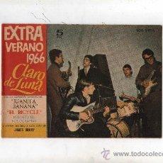 Tebeos: (M-19) CLARO DE LUNA - EXTRA VERANO 1966 , PORTADA DE LOS SIREX , . Lote 32307544