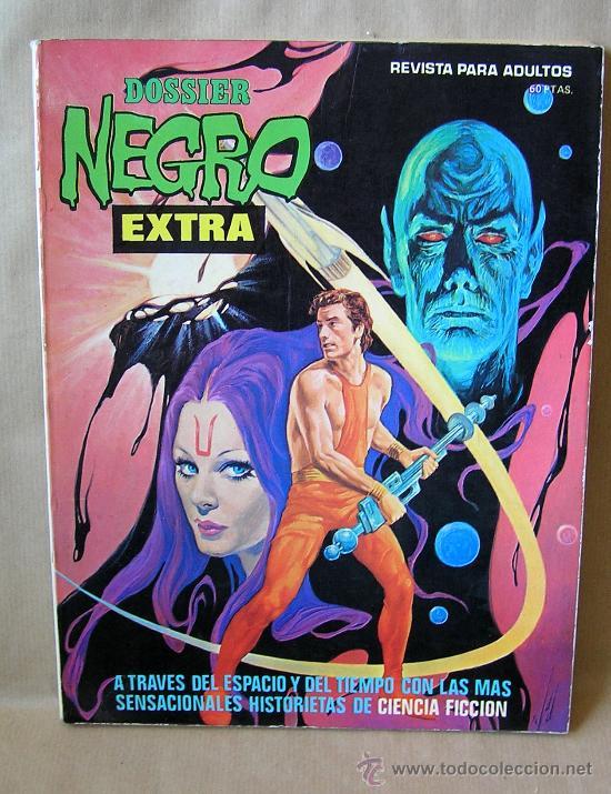 DOSSIER NEGRO – NÚMERO EXTRA VERANO 76 – MUY BUEN ESTADO (Tebeos y Comics - Ibero Mundial)