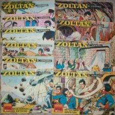 Tebeos: ZOLTAN (IBERO MUNDIAL) (LOTE DE 9 NUMEROS DIFERENTES). Lote 33648105