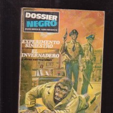 Tebeos: DOSSIER NEGRO VOLUMEN 1 , Nº 11 - EDITA : IBEROMUNDIAL 1968. Lote 33893755