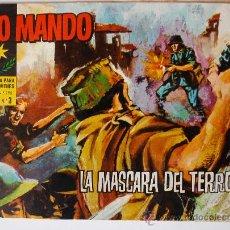 Tebeos: ALTO MANDO Nº 3 AÑO I. LA MASCARA DEL TERROR (IBERO MUNDIAL). Lote 34959858