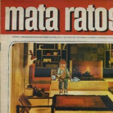 Tebeos: MATA RATOS Nº 181 (1970). Lote 35100626