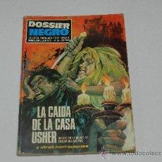 Tebeos: (M-1) DOSSIER NEGRO NUM 16 , IBERO MUNDIAL, BARCELONA 1970, SEÑALES DE USO. Lote 36592268