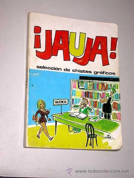 JAUJA, SELECCIÓN DE CHISTES GRÁFICOS. IBERO MUNDIAL DE EDICIONES 1972. GIN, IVÁ, ÓSCAR, VICAR, OLI. (Tebeos y Comics - Ibero Mundial)