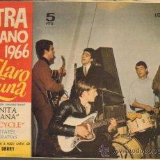 Tebeos: TEBEOS-COMICS GOYO - CLARO DE LUNA - EXTRA DE VERANO - 1966 - LOS SIREX - MINA - ALEX MARCO *CC99. Lote 37027649