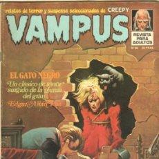 Tebeos: VAMPUS Nº 36 CON POSTER - JOSE GUAL, JOHN SEVERIN, BERNI WRIGHTSON, . Lote 38638381