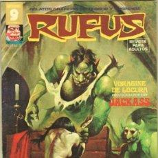 Tebeos: RUFUS Nº 25 EDI. GARBO 1973 - JOSE ORTIZ, ADOLFO ABELLAN, LEOPOLDO SÁNCHEZ, ISIDRO MONES, SERG MOREN. Lote 38747358