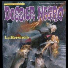 Tebeos: DOSSIER NEGRO: LA HERENCIA ENTRE OTROS RELATOS GRAFICOS (1984). Lote 42823545
