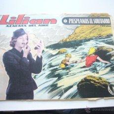 Tebeos: COLECCION HEROINAS LILIAN AZAFATA DEL AIRE Nº 11 1.50 PTAS. AVENTURAS IBERO MUNDIAL C56. Lote 43134648