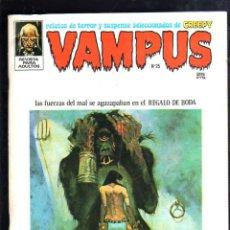 Tebeos: REVISTA PARA ADULTOS. VAMPUS. Nº 25. CON POSTER CENTRAL. 1971.. Lote 43642843