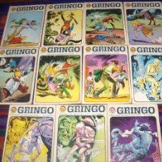 Tebeos: LOTE 11 NºS DE RINGO LEY GRINGO NºS 2 6 7 8 9 12 13 14 15 16 17. IMDE 1969. BUEN ESTADO.. Lote 44820131