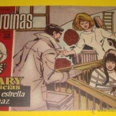 Tebeos: REVISTA JUVENIL Nº 217 HEROÍNAS MARY NOTICIAS UNA ESTRELLA FUGAZ NANCY SINATRA REVERSO. Lote 82551307