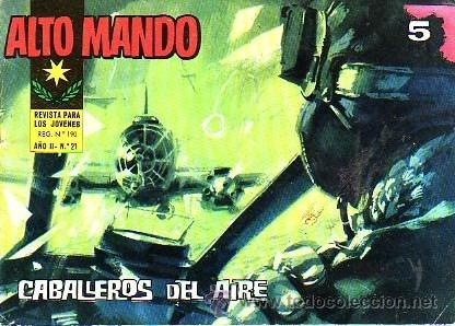 ALTO MANDO (IBERO MUNDIAL) Nº 21 (Tebeos y Comics - Ibero Mundial)
