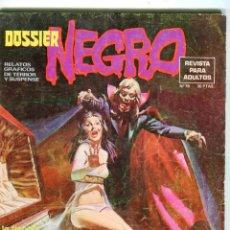 Livros de Banda Desenhada: DOSSIER NEGRO Nº 78 AÑO 1970 BUEN ESTADO. Lote 47489489