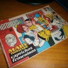 Tebeos: LOTE 15 EJEMPLARES COLECCIÓN HEROÍNAS - AÑO 1962 - EDT. IBERO MUNDIAL - ORIGINALES (NO FACSIMILES).. Lote 49097499