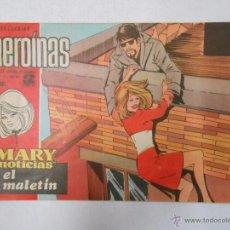 Tebeos: COLECCION HEROINAS Nº 361. REVISTA JUVENIL FEMENINA. MARY NOTICIAS. EL MALETIN. TDKC8. Lote 49685106