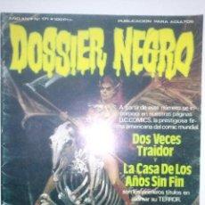 Tebeos: DOSSIER NEGRO-NUEVA ÉPOCA- Nº 171 -1984-EL ETERNAUTA ORIGINAL-LARRY MANNINO-JOSÉ ORTIZ-DIFICIL-4365. Lote 245574145