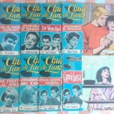 Tebeos: CLARO DE LUNA Nº 258,287,293,294,301,303,318,320,339 Y 357 (IBEROMUNDIAL 1964/66) 10 TEBEOS.. Lote 50817810