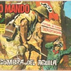 Tebeos: ALTO MANDO ORIGINAL Nº 10 IBERO MUNDIAL 1964 - LA SOMBRA DEL AGUILA. Lote 51465950