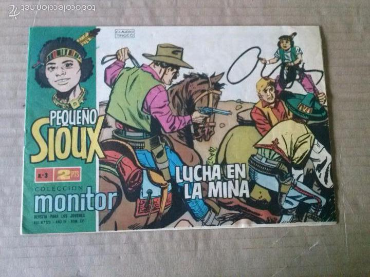 EL PEQUEÑO SIOUX Nº 3 - IB-M-D.E.- TA (Tebeos y Comics - Ibero Mundial)