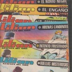 Tebeos: LILIAN AZAFATA DEL AIRE, LOTE 15 EJEMPLARES / JORGE BADIA , AÑOS 60. Lote 56213345