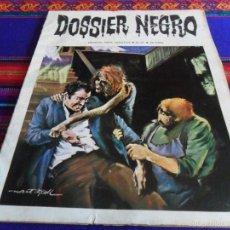 Tebeos: DOSSIER NEGRO Nº 31. IBERO MUNDIAL DE EDICIONES 1971. 25 PTS. RARO EN BUEN ESTADO.. Lote 56613464