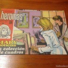 Tebeos: HEROINAS MARY NOTICIAS Nº 398. IBERO MUNDIAL 1970. KARINA EN CONTRAPORTADA.. Lote 56737123