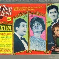 Tebeos: TEBEOS-COMICS GOYO - CLARO DE LUNA - VII FESTIVAL CANCION MEDITERRANEA- EXTRA - 1959 - DIFICIL *AA99. Lote 57493437