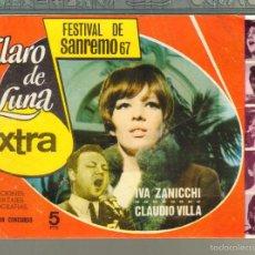Tebeos: TEBEOS-COMICS GOYO - CLARO DE LUNA - FESTIVAL SAN REMO 1967 - EXTRA - 1959 - MUY DIFICIL *AA99. Lote 57493505