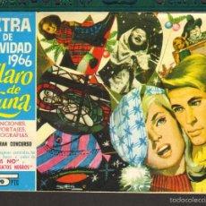 Tebeos: TEBEOS-COMICS GOYO - CLARO DE LUNA - NAVIDAD 1966 - EXTRA - 1959 - DIFICIL *AA99. Lote 57493552