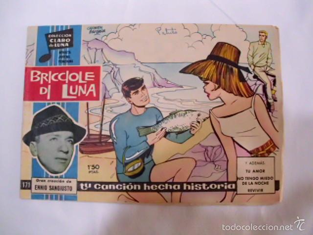 Tebeos: LOTE DE ONCE TEBEOS, COLECCIÓN CLARO DE LUNA - AÑOS 59 -65, CON LAS LETRAS DE LAS CANCIONES DE ÉXITO - Foto 8 - 57693275