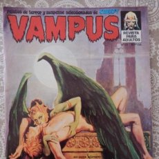 Tebeos: VAMPUS Nº33 (CON PÓSTER CENTRAL). Lote 58561180