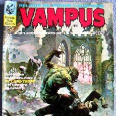 Tebeos: VAMPUS - Nº 3, EN NOV 1971 - COMIC CON: RELATOS DE TERROR Y SUSPENSE ( SELECCIONADOS DE CREEPY )... Lote 58847081