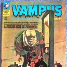 Livros de Banda Desenhada: VAMPUS - Nº 15, NOVBRE 1972 - COMIC CON: RELATOS DE TERROR Y SUSPENSE ( SELECCIONADOS DE CREEPY ).. Lote 60119051