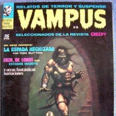 Tebeos: VAMPUS - Nº 18, FBRO 1973 - COMIC CON: RELATOS DE TERROR Y SUSPENSE ( SELECCIONADOS DE CREEPY ).. Lote 60119687