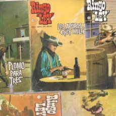 Tebeos: RINGO LEY FORMATO PEQUEÑO - LOTE NºS 10,14,18,40,42 IBERO MUNDIAL 1965. Lote 64417659