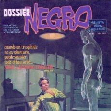 Tebeos: DOSSIER NEGRO Nº85. IBERO MUNDIAL, 1977. DIBUJOS DE JUAN BOIX, FRANK THORNE, LEOPOLDO SÁNCHEZ.... Lote 69782601