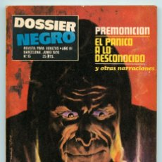 Tebeos: DOSSIER NEGRO - Nº 15 - IBERO MUNDIAL - 1970. Lote 71084629