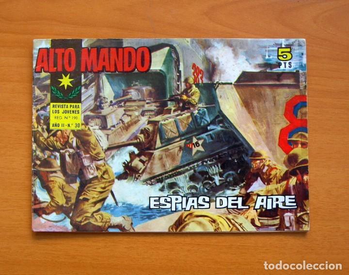 ALTO MANDO Nº 30 ESPIAS DEL AIRE - IBERO MUNDIAL DE EDICIONES 1964 (Tebeos y Comics - Ibero Mundial)