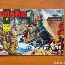 Tebeos: ALTO MANDO Nº 30 ESPIAS DEL AIRE - IBERO MUNDIAL DE EDICIONES 1964. Lote 72741335