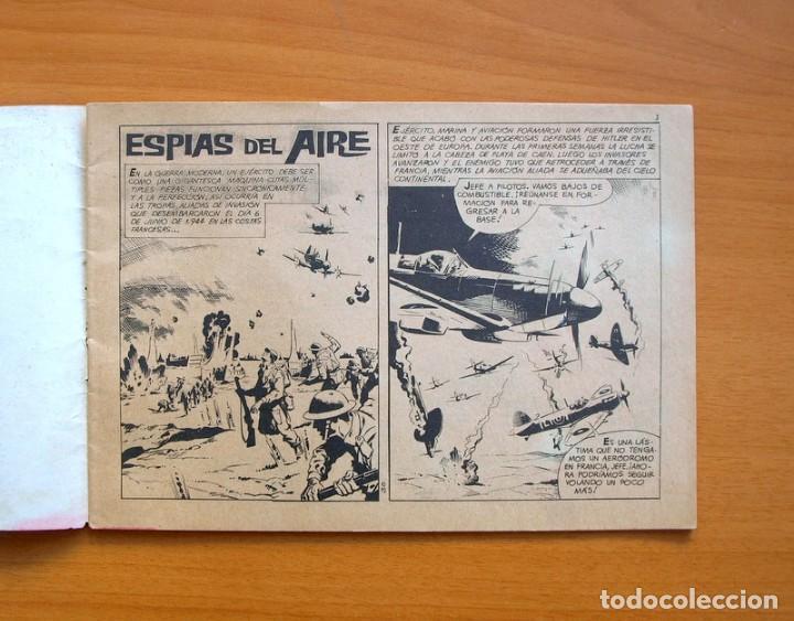 Tebeos: Alto Mando nº 30 Espias del aire - Ibero Mundial de Ediciones 1964 - Foto 2 - 72741335