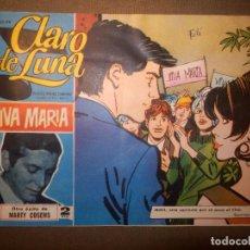 Tebeos: TEBEO - COMIC - CLARO DE LUNA - VIVA MARÍA - Nº 370 - MARTY COSENS - IBERO MUNDIAL. Lote 74361223