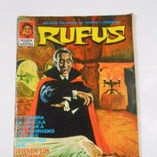 Tebeos: RUFUS. - RELATOS GRÁFICOS DE TERROR Y SUSPENSE - Nº 7 - IBERO MUNDIAL - 1973. TDKC22. Lote 81991324