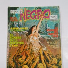 Tebeos: DOSSIER NEGRO Nº 70. AIRE FRIO. H.P. LOVECRAFT. EL HOMBRE EN LA MULTITUD. E.A. POE. TDKC22. Lote 81994156